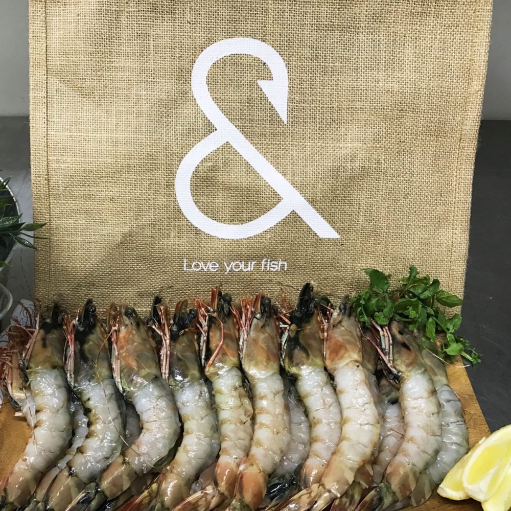 Raw Australian Tiger Prawns 2kg