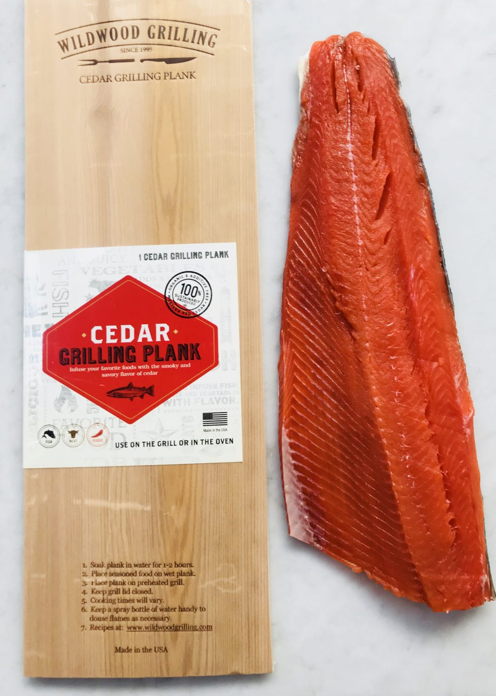 Whole Alaskan Salmon Side - Fish & Co