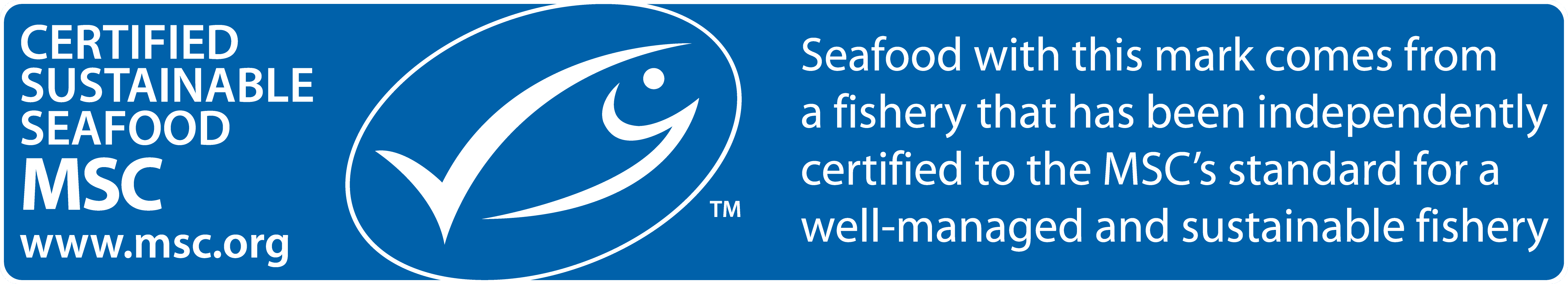 Sustainable Fish selected at Fish & Co