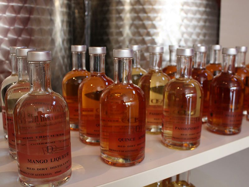 red dirt distillery - fish and co